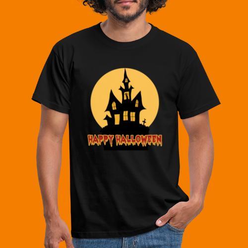 Happy Halloween - T-shirt herr