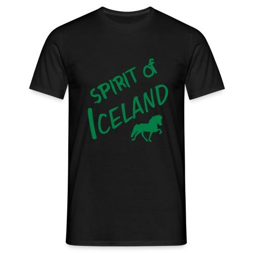 4gaits ruecken - Männer T-Shirt