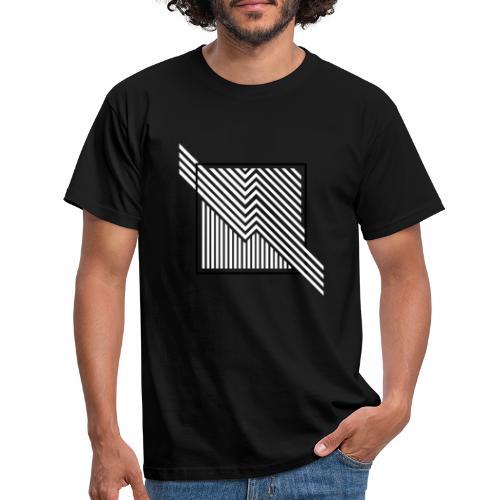 Lines in the dark - Men's T-Shirt