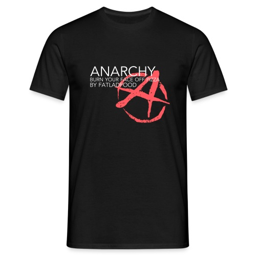 ANARCHY Black - Men's T-Shirt
