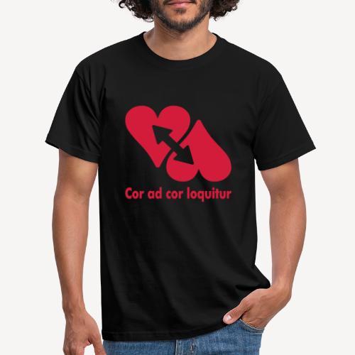 COR AD COR LOQUITUR - Men's T-Shirt