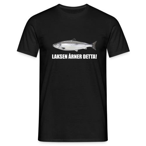 laksenårnerdetta png - T-skjorte for menn
