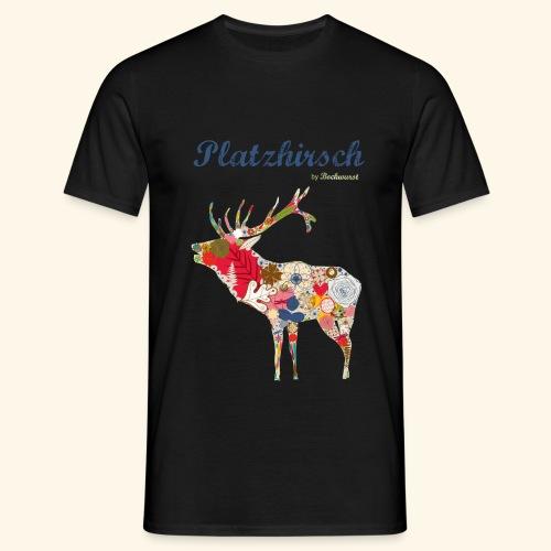 Bockwurst Sportswear - Platz Hirsch - Männer T-Shirt