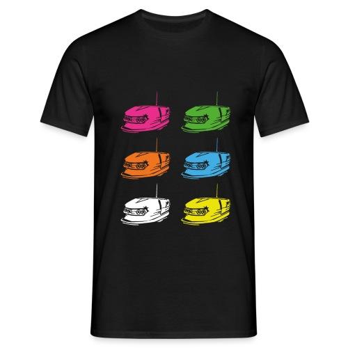 Autoscooter fahn! - Männer T-Shirt