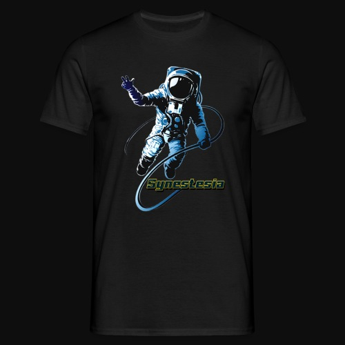 Synestesia Spaceboy - Männer T-Shirt