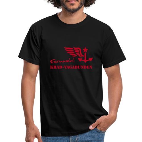 Krad-Vagabunden - Fernweh - V2 - Männer T-Shirt