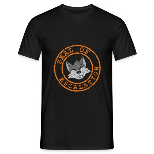 Seal of Escalation - Männer T-Shirt