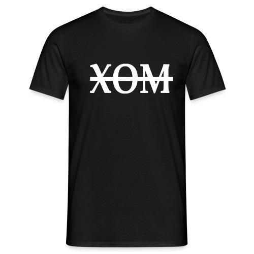 xom white png - Men's T-Shirt