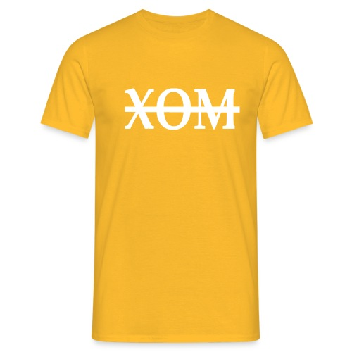 xom white png - Men's T-Shirt