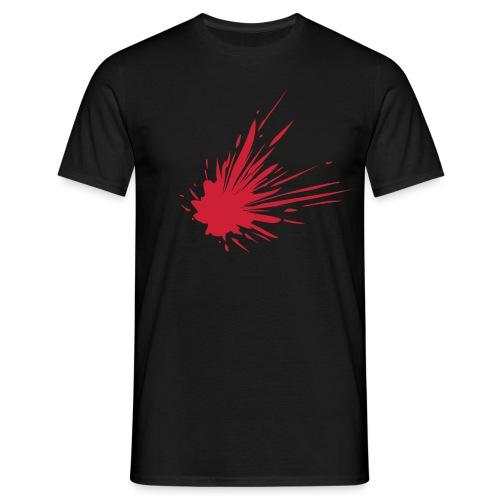 Blodsplat - Herre-T-shirt