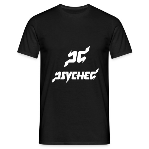 psyched-logo-finalwhite - Mannen T-shirt