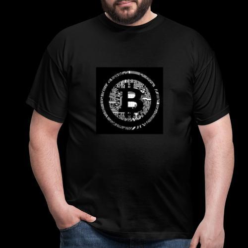 bitcoin logo - Männer T-Shirt