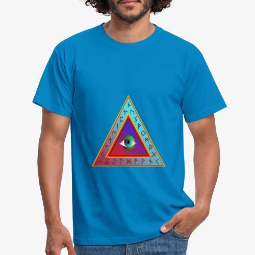 Dreieck - Männer T-Shirt