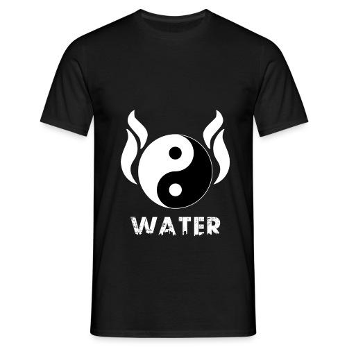 YIN YANG WATER - Männer T-Shirt