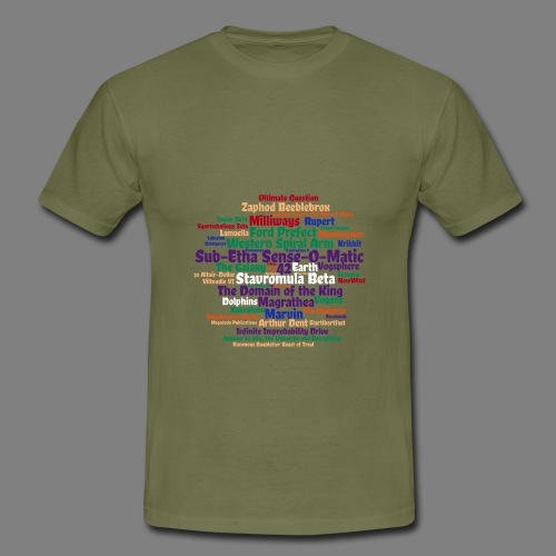 Per Anhalter - Männer T-Shirt