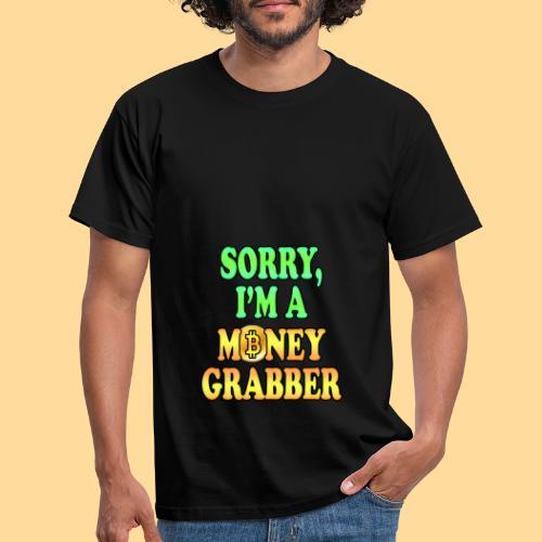 Money Grabber - Maglietta da uomo