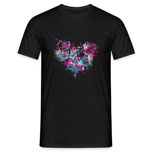 Colorful love - Men's T-Shirt