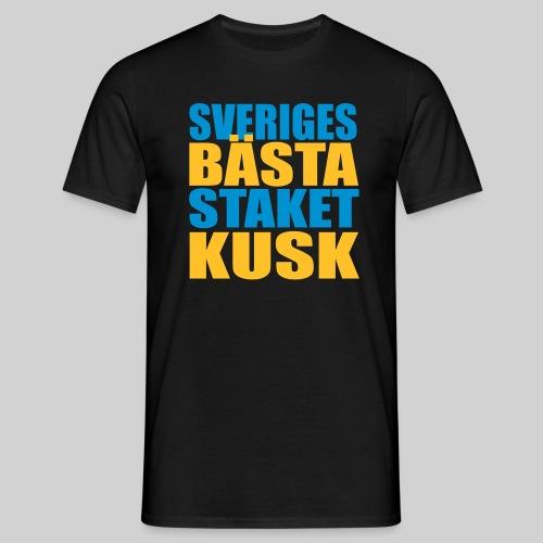 Sveriges bästa staketkusk! - T-shirt herr