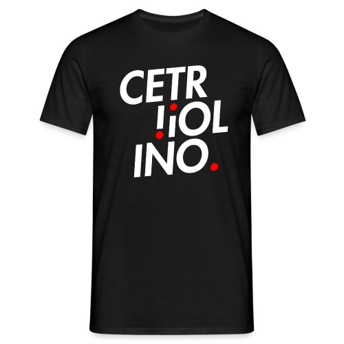 Cetr!ol!no. (Dark T-Shirt) - Maglietta da uomo