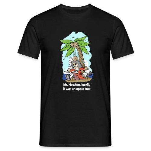 Mr. Newton, Luckily it was an apple tree - Camiseta hombre
