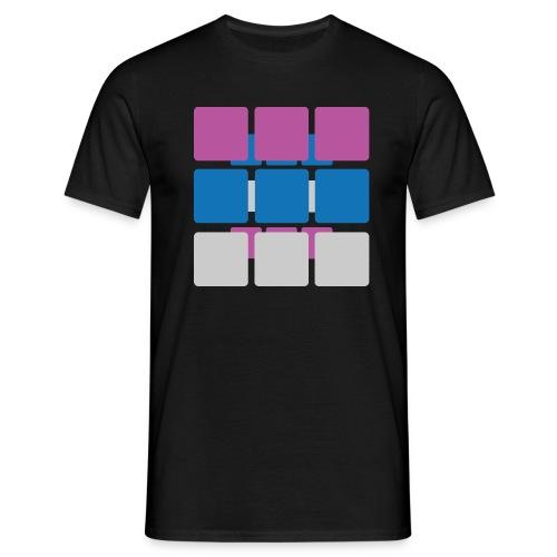 kwadraty - Koszulka męska