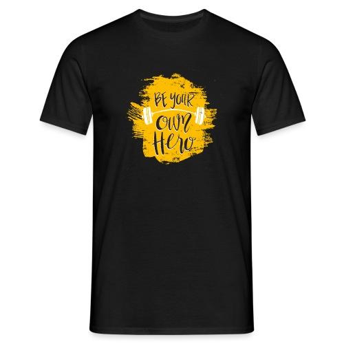 GYM Hero - Miesten t-paita