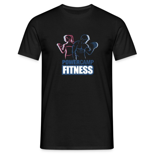 powercamp02 - Men's T-Shirt