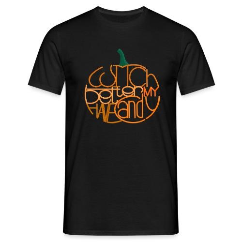 Græskar med citat - Herre-T-shirt