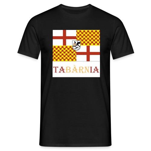 Bandera Tabarnia con escudo y nombre - Camiseta hombre