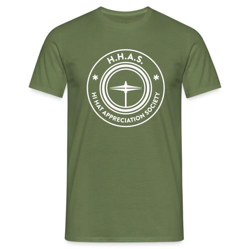 H.H.A.S. T-shirt w. logo - T-shirt herr