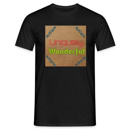 Autism statement - Men's T-Shirt