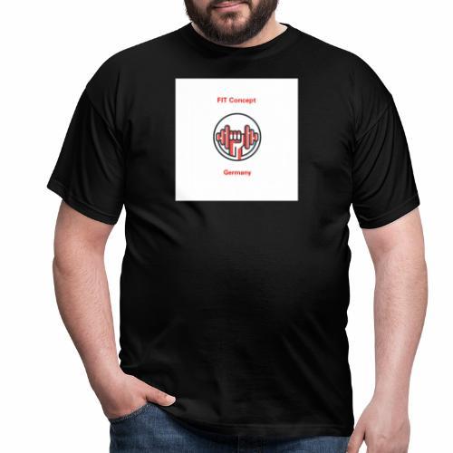 FIT Concept Germany Logo+Beschriftung - Männer T-Shirt