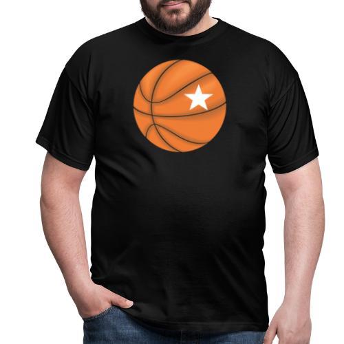 Basketball Star - Mannen T-shirt