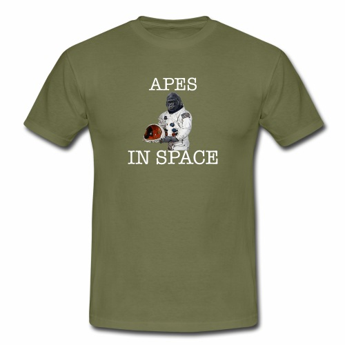 Apes in Space - Men's T-Shirt