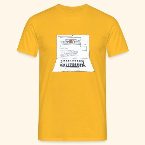Laptop 20CENT Retail - T-shirt Homme