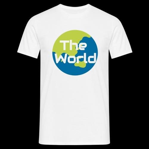 The World Earth - Herre-T-shirt