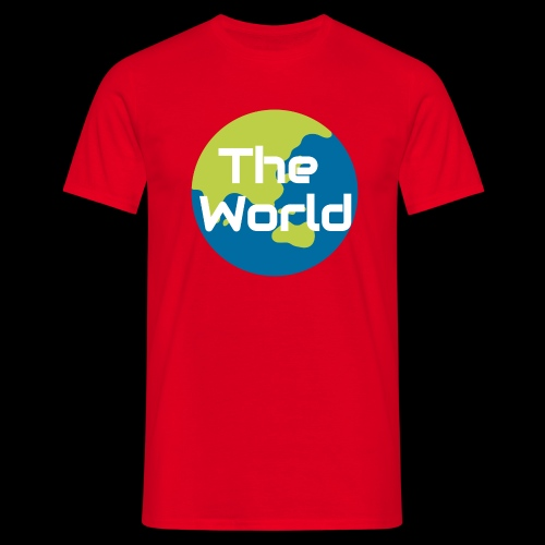 The World Earth - Herre-T-shirt