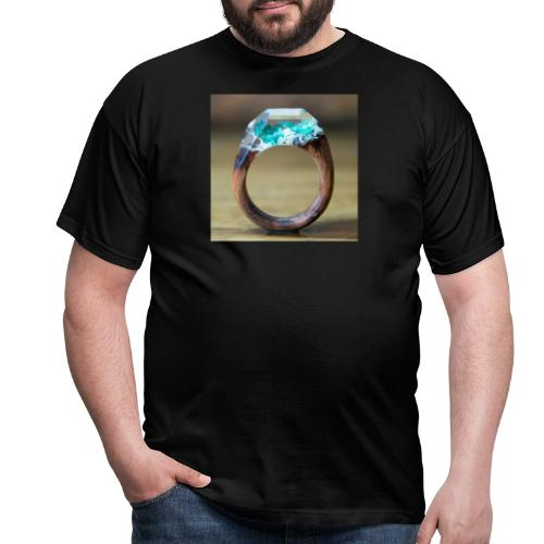 schöner Ring - Männer T-Shirt