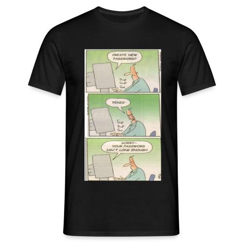 passord2 - T-shirt herr