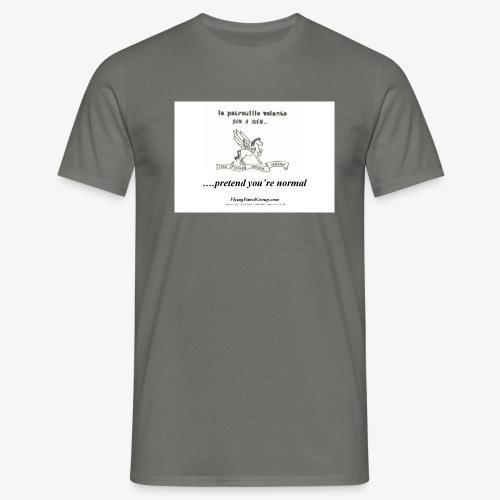 pretend t - Men's T-Shirt