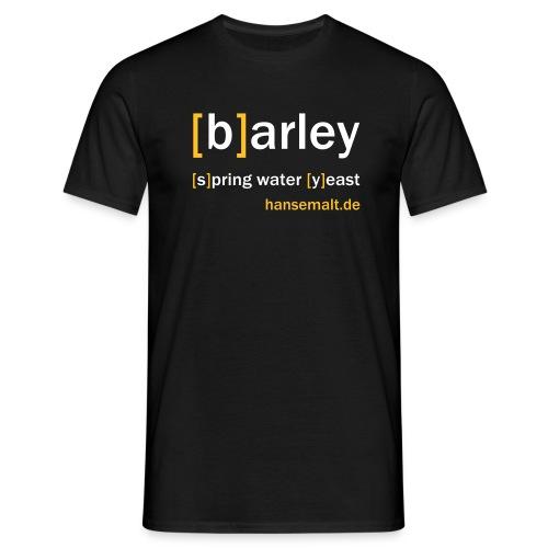 barley - Männer T-Shirt