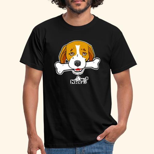 Nice Dogs Semolino - Maglietta da uomo
