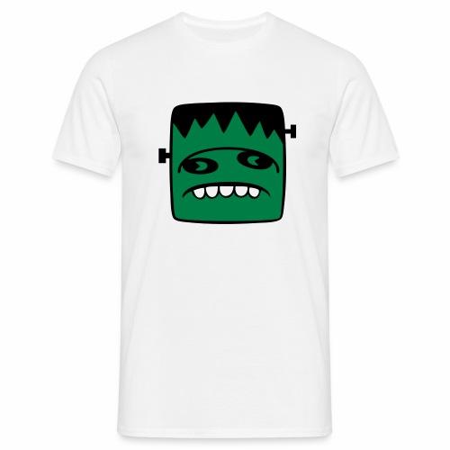 Fonster pur weißer Rand - Männer T-Shirt