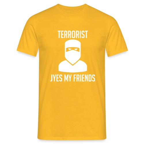 Jyes my friend - T-shirt herr