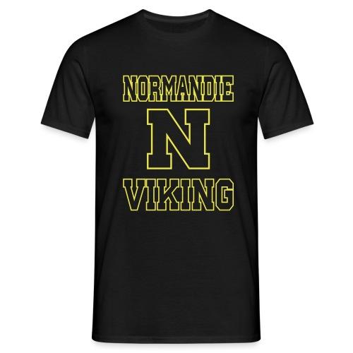 Normandie Viking Def jaune - T-shirt Homme