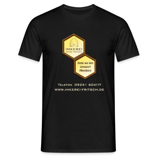 Imkerei Kevin Fritsch 2 Waben groß - Männer T-Shirt