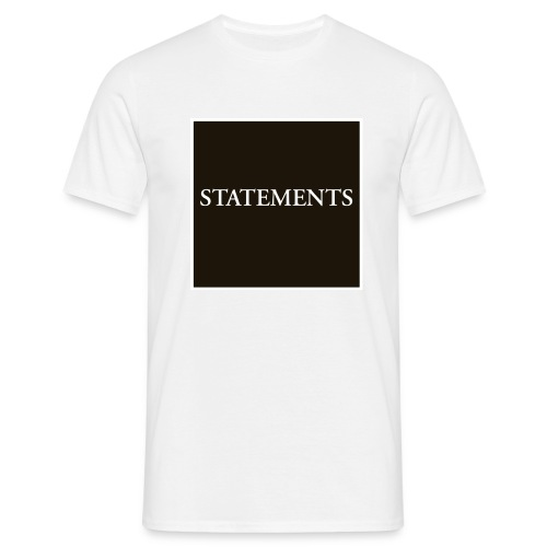 Statements EP Cover - T-shirt herr