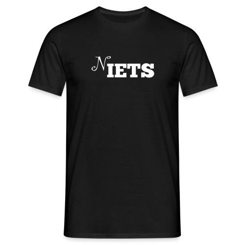 N iets - Mannen T-shirt