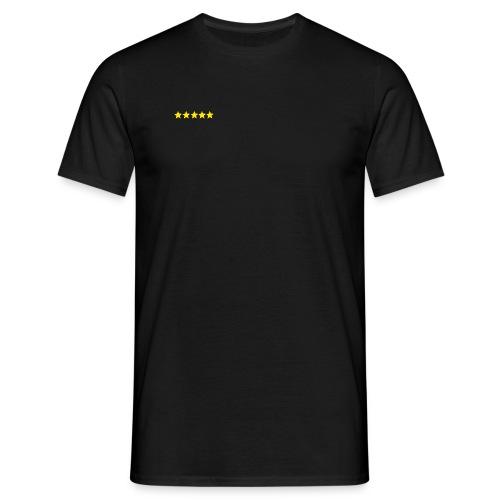 5 Sterne gif - Männer T-Shirt