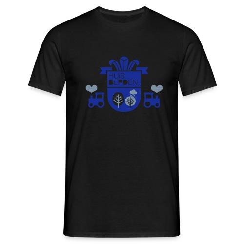 Wappen Huisberden - Männer T-Shirt